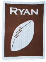 Butterscotch Blankees 'Football' Personalized Blanket