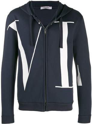 Valentino VLTN zip-front hoodie