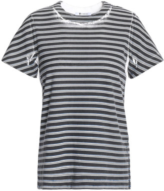 alexanderwang.t Printed Cotton-jersey T-shirt