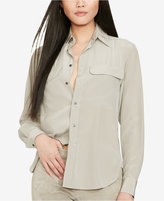 Polo Ralph Lauren Silk Two-Pocket Shirt