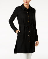 Calvin Klein Button-Front Topper Jacket