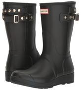 Hunter Original Short Wedge Back Strap Stud Women's Rain Boots