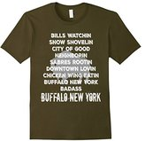 Men's Buffalo NY Shirt New York WNY Beer Wings Sports Snow 3XL