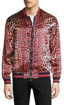 3.1 Phillip Lim Reversible Leopard Souvenir Jacket
