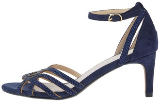 Monsoon Hatty Heat Seal Occasion Sandal - Navy