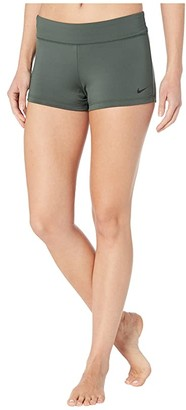 Nike Kick Shorts (Galactic Jade) Women's Swimwear