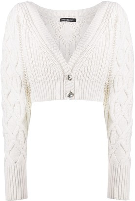 Wandering Cable Knit Cardigan