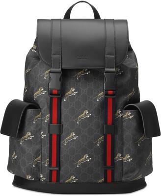 Gucci GG Black backpack
