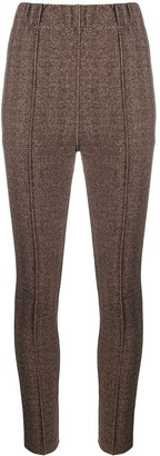 Steffen Schraut Skinny Chevron Trousers