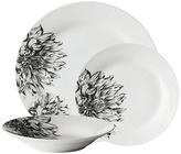 Avie Botanic Garden 12 Piece Porcelain Dinner Set