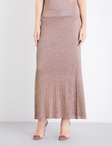 Missoni Metallic-knit maxi skirt