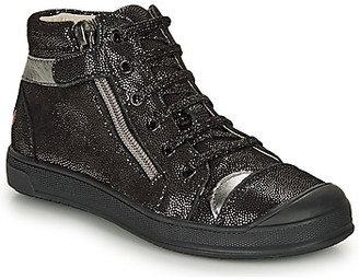 GBB DESTINY girls's Shoes (High-top Trainers) in Black