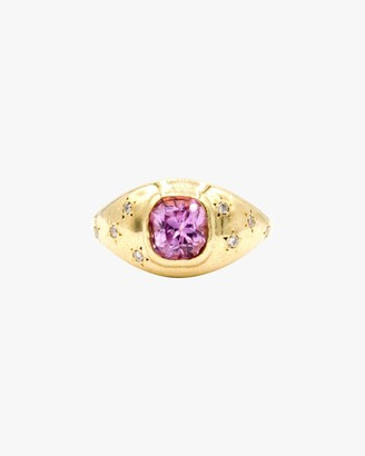 Octavia Elizabeth Pink Sapphire Imogen Ring
