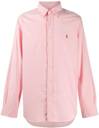 Polo Ralph Lauren Logo Embroidered Button-Down Shirt