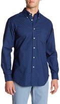 Brooks Brothers Oxford Nautical Print Regular Fit Shirt