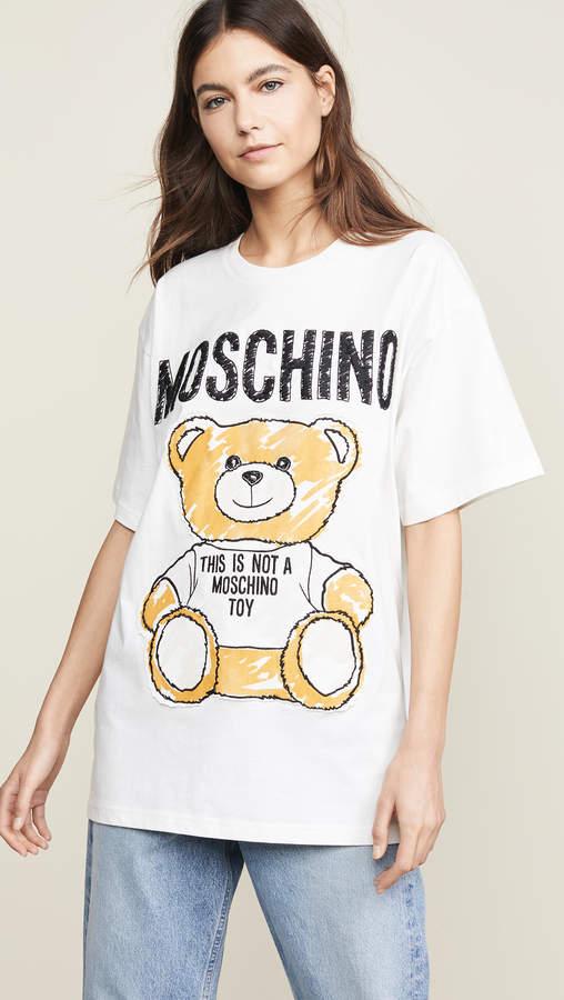 dd0d80eb8 Moschino Oversized T Shirt - ShopStyle