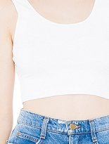 American Apparel Women's Cotton Spandex Crop Tank