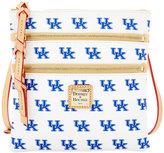 Dooney & Bourke Kentucky Wildcats Triple-Zip Crossbody Bag