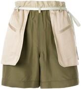 Valentino layered shorts
