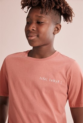 Country Road Teen Recycled Cotton Life T-Shirt