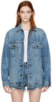 Alexander Wang Blue Denim Daze Jacket