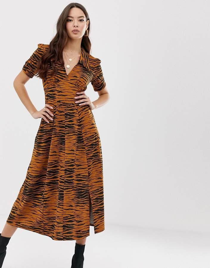 69eba6184801 Asos Animal Print Day Dresses - ShopStyle