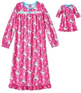 "SANRIO Girl's Nightgown Matching 1"" Doll Gown Hello Kitty 6"