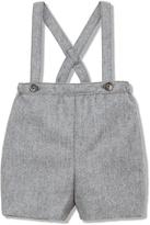 Marie Chantal Marie-Chantal Suspender Wool Short