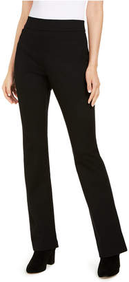 INC International Concepts Inc Pull-On Ponte-Knit Bootcut Pants in Curvy fit