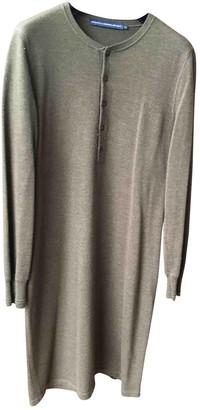 Ralph Lauren Khaki Wool Dresses