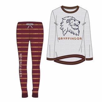 Artesania Cerda Boy's Pijama Largo Single Jersey Harry Potter Gryffindor Pyjama Sets