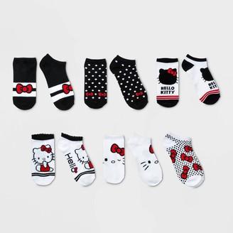 Hello Kitty Girs' Heo Kitty 6pk Socks - /