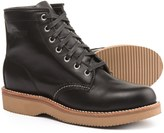 "Chippewa Plain-Toe Lace-Up Boots - Leather, 6"" (For Women)"