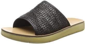 Evans Women's Nikki Open Toe Sandals, (Black 01), 5 (38 EU)