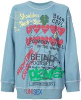 Vivienne Westwood graphic writing sweater