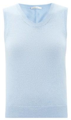 The Row Amalia Scoop-neck Cashmere Tank Top - Light Blue