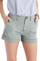 Madewell Women's Garment Dye High Waist Shorts