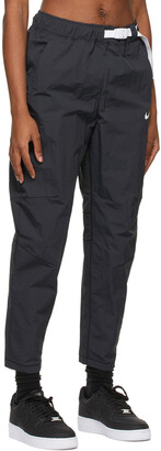 Nike Black Sportswear Tech Pack Woven Lounge Pants