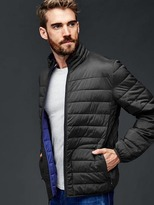 Gap ColdControl Lite stretch puffer jacket