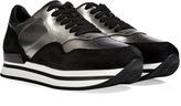 Hogan Leather/Suede Sneakers