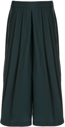 Vince Pleated Culotte Trousers