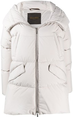 Moorer Stop quilted coat