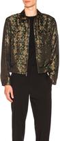 3.1 Phillip Lim Bowler Jacket in Green,Floral.