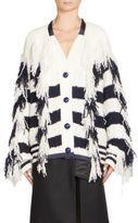 Sacai Knit Wool Cardigan