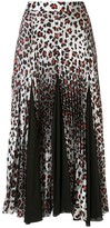 Marques Almeida Marques'almeida leopard-print pleated skirt