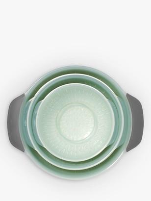 OXO Good Grips Nesting Bowl & Colander Set, 9 Piece, Grey