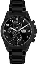 Jacques Lemans Men's 1-1750G Liverpool Automatic Analog Display Swiss Automatic Black Watch