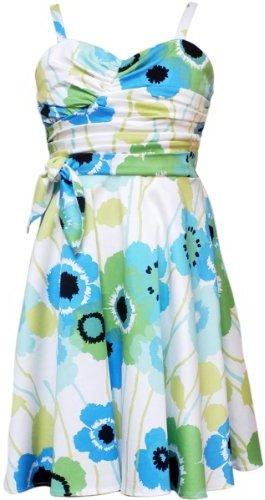 Rare Editions Girls 7-16 Floral Print Dress