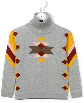 Chloé Kids - intarsia jumper - kids - Cotton/Polyamide/Wool - 8 yrs