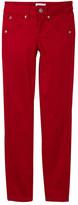 Hudson Collin Sateen Flap Pocket Skinny Jean (Big Girls)